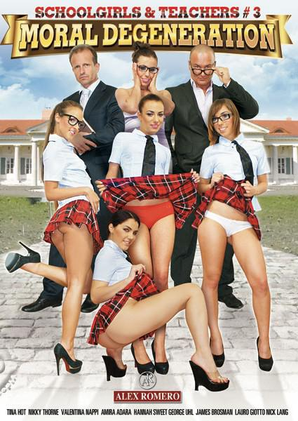 Schoolgirls & Teachers #3 - Moral Degeneration Box Cover