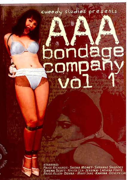 AAA Bondage Co Volume 1 Box Cover