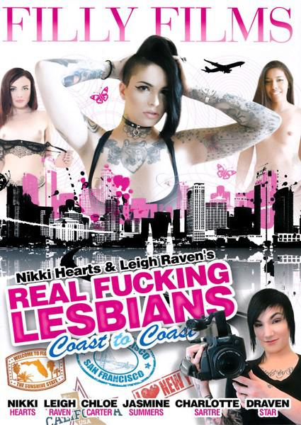 Nikki Hearts & Leigh Raven's Real Fucking Lesbians Coast To Coast Box Cover