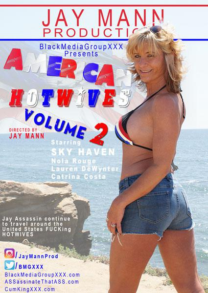 American Hotwives Volume 2 Box Cover