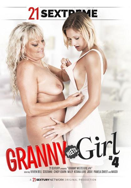 Granny Meets Girl #4 Box Cover - Login to see Back