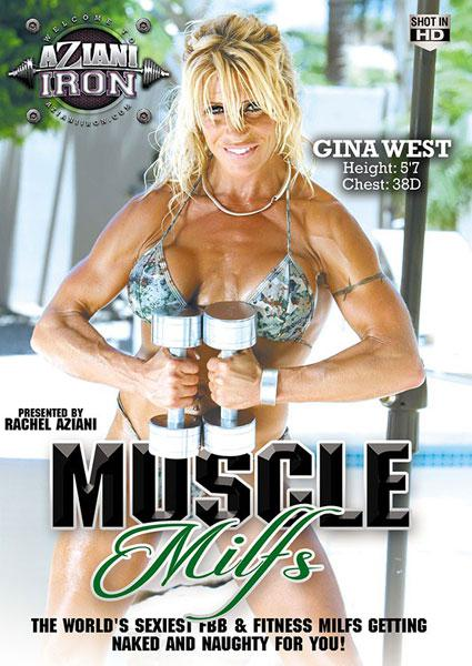 Muscle MILFs Box Cover