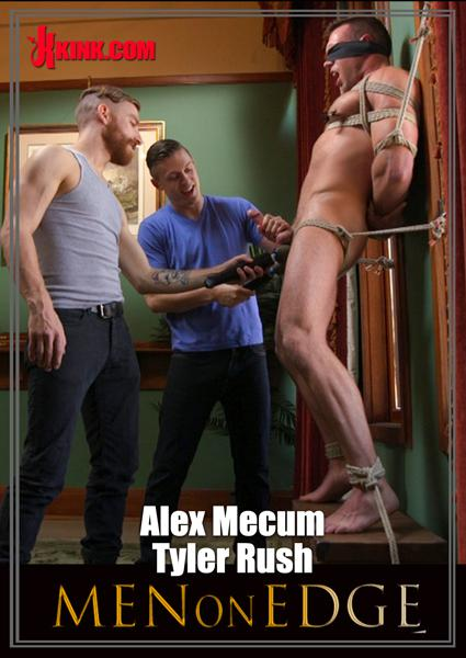 Men on Edge - Muscular Stud Is Bound and Edged Box Cover