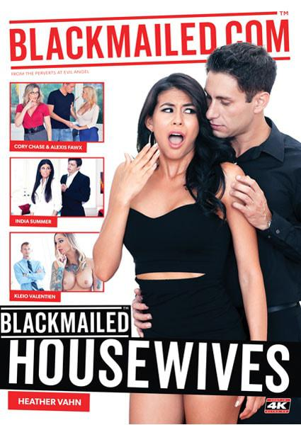 Blackmailed Housewives Box Cover