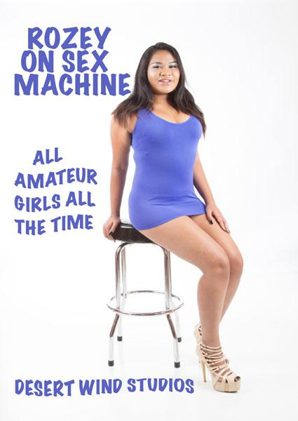 Rozey On Sex Machine Box Cover