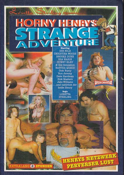 Horny Henry's Strange Adventure Box Cover