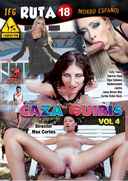 Caza Guiris Vol. 4 Box Cover