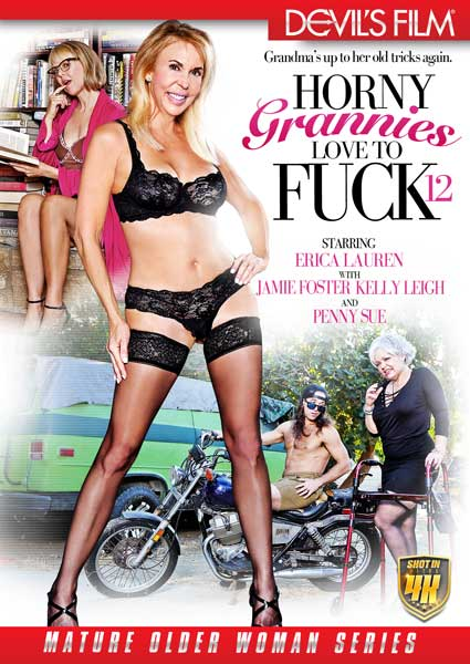 Horny Grannies Love To Fuck 12 Box Cover