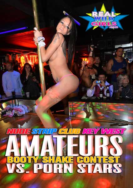 Nude Booty Shake Contest - Amateurs Vs. Porn Stars Box Cover