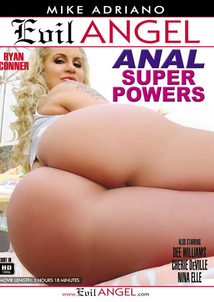 Anal Super Powers Box Cover