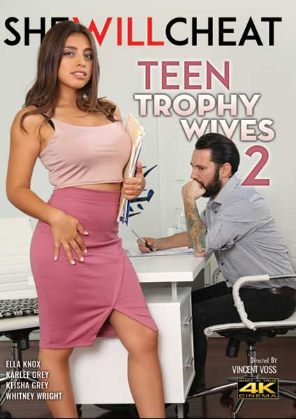Teen Trophy Wives 2 Box Cover