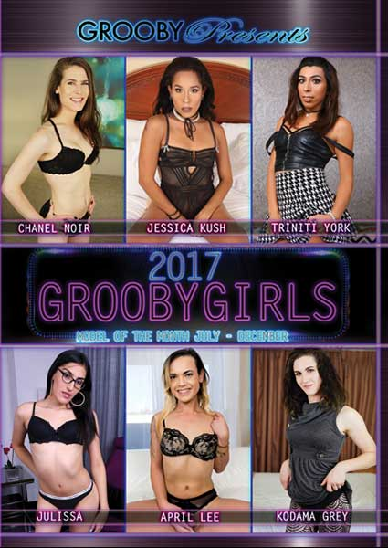 Grooby Girls Model Of The Month 2017 - July To December Box Cover