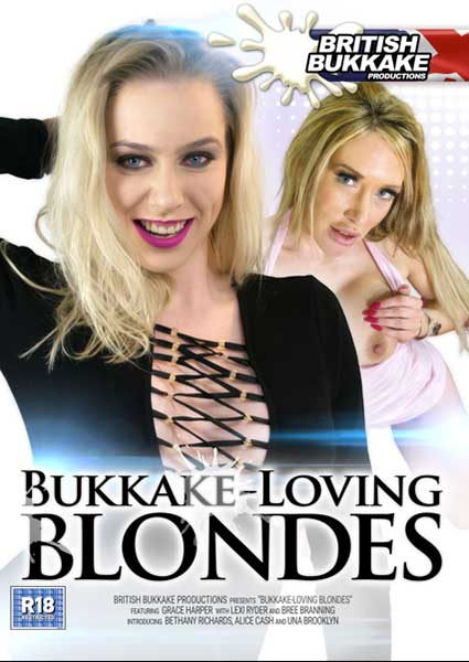 Bukkake Loving Blondes Box Cover