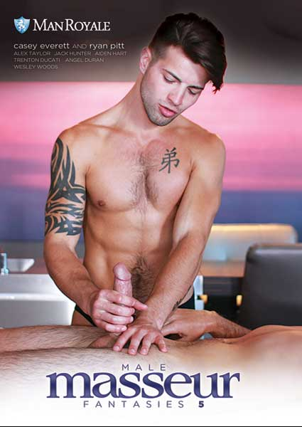 Male Masseur Fantasies Vol. 5 Box Cover
