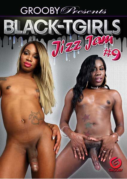 Black-Tgirls  Jizz Jam #9 Box Cover