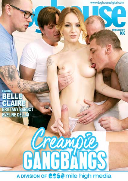 Creampie Gangbangs Box Cover