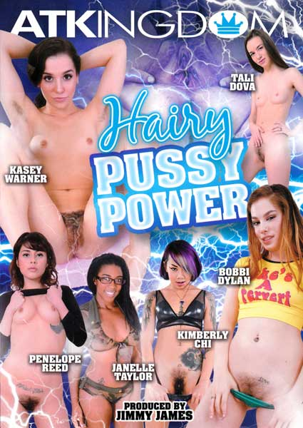 Hairy Pussy Power Box Cover