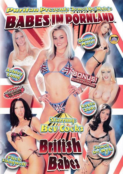Babes in Pornland: British Babes Box Cover