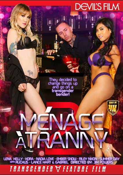 Menage A Tranny 2 Box Cover