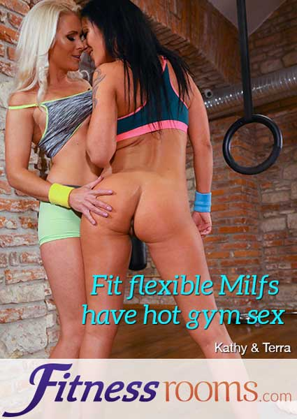 Fit Flexible MILFs Have Hot Gym Sex Box Cover
