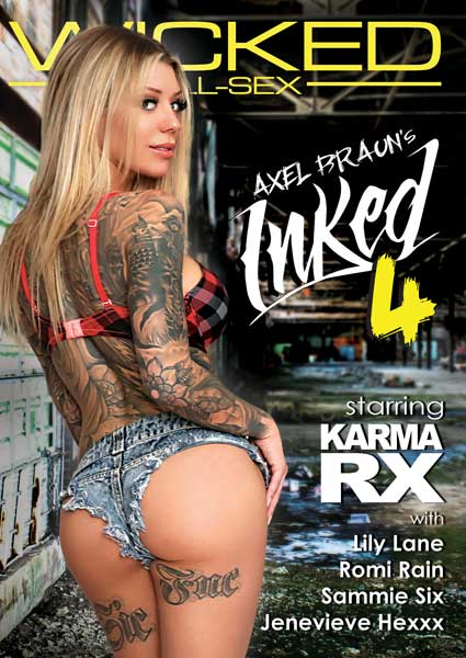 Axel Braun's Inked 4 Box Cover