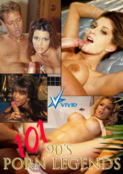 101 90's Porn Legends Box Cover