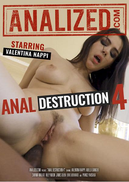 Anal Destruction 4 Box Cover - Login to see Back