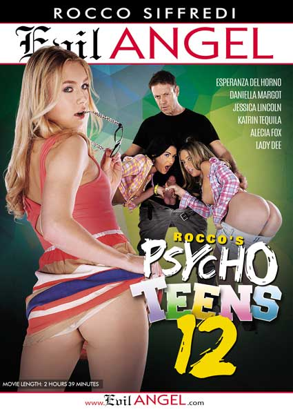 Rocco's Psycho Teens 12 Box Cover