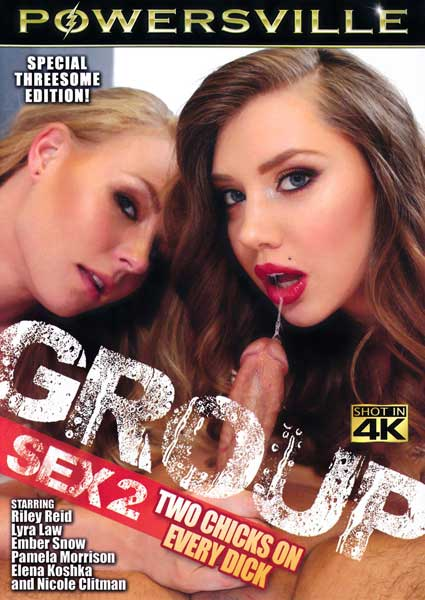 Group Sex 2 - Two Chicks On Every Dick