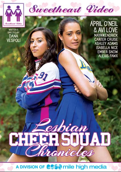 Lesbian Cheer Squad Chronicles Box Cover