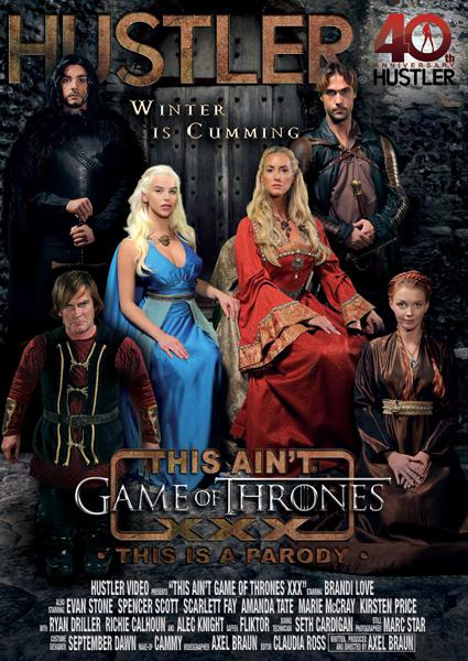This Ain't Game Of Thrones XXX - This Is A Parody Box Cover