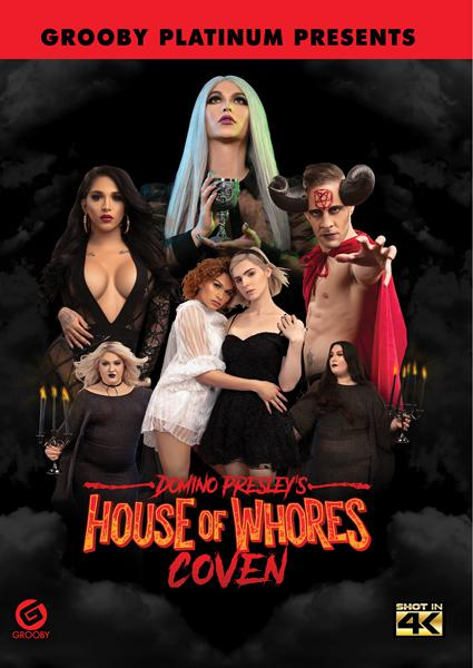 Domino Presley's House Of Whores - Coven Box Cover