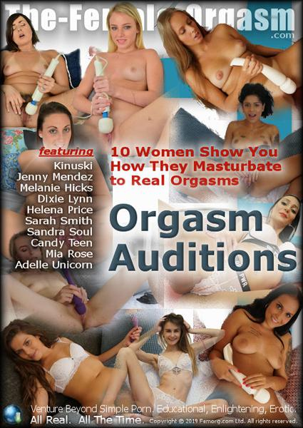 Orgasm Auditions Box Cover