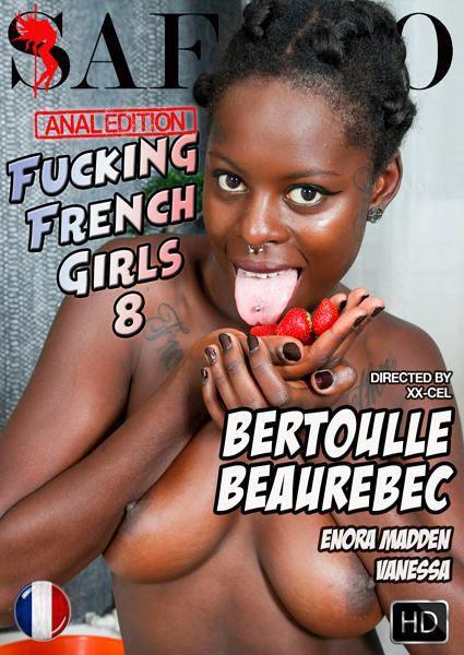 Fucking French Girls 8: Anal Edition Box Cover