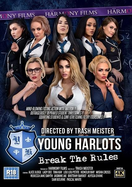 Young Harlots Break The Rules Box Cover