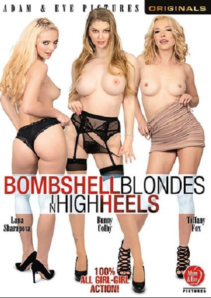 Bombshell Blondes In High Heels Box Cover - Login to see Back