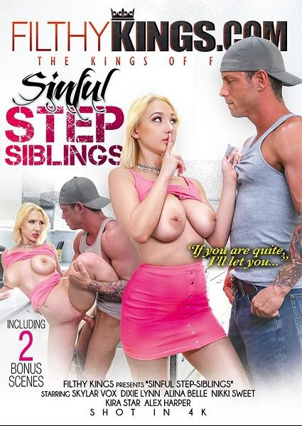 Sinful Step Siblings Box Cover - Login to see Back