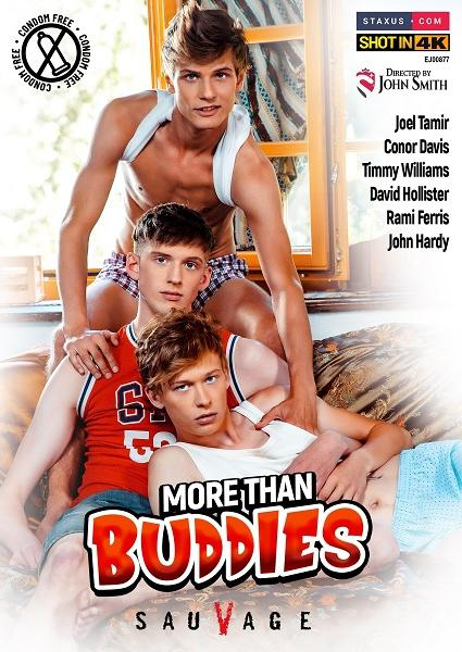 More Than Buddies Cover Front