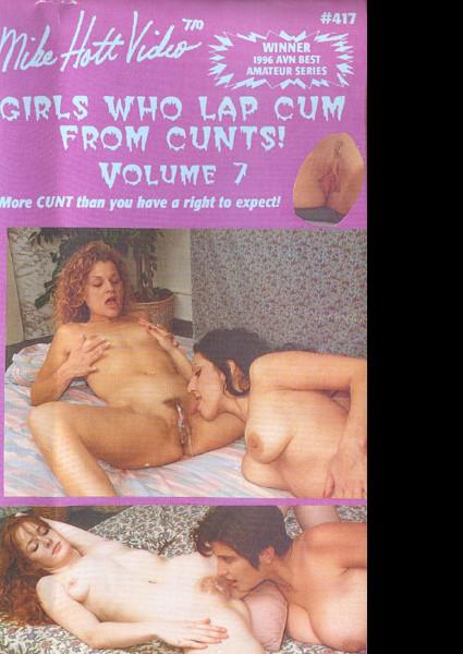 Girls Who Lap Cum From Cunts! Volume 7