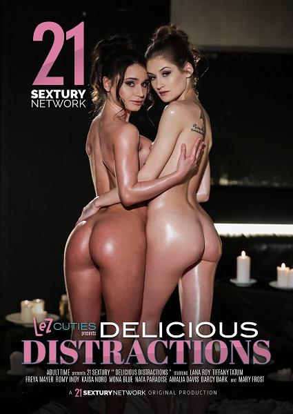 Lezcuties - Delicious Distractions Box Cover - Login to see Back