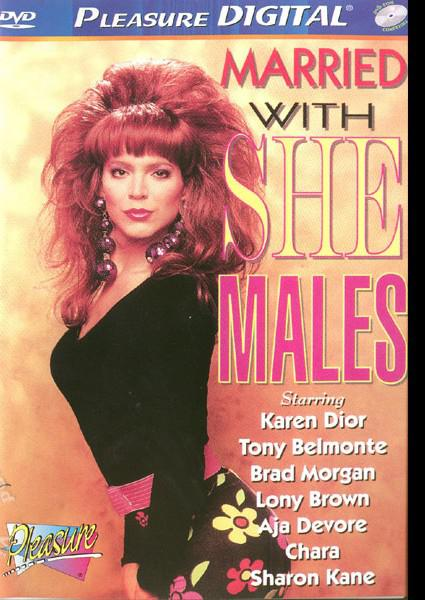 Married With She Males Box Cover