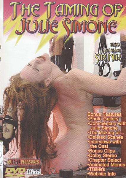 The Taming Of Julie Simone Box Cover