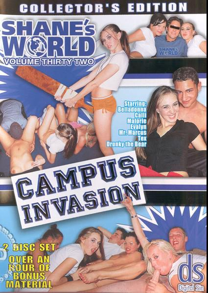 Shane's World 32 - Campus Invasion Box Cover