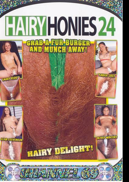 Hairy Honies 24 Box Cover