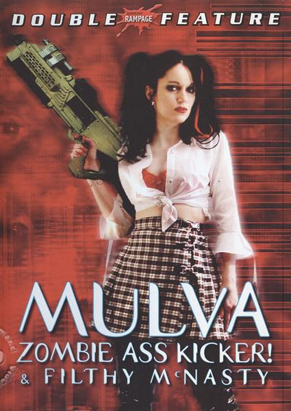 Mulva: Zombie Ass Kicker! Box Cover