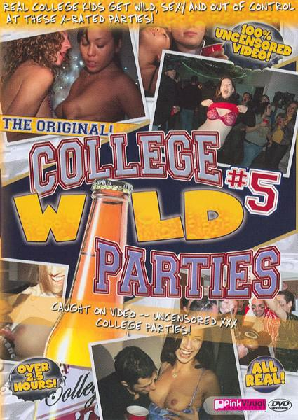 College Wild Parties #5 Box Cover