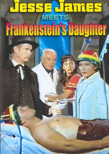 Jesse James Meets Frankenstein's Daughter Box Cover