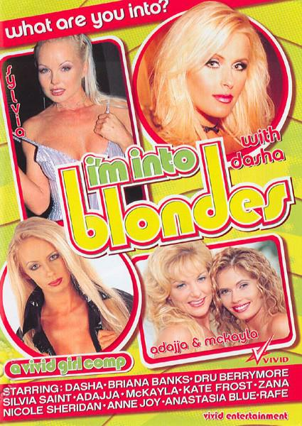 I'm Into Blondes Box Cover