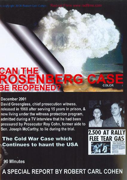 Can The Rosenberg Case Be Reopened? Box Cover