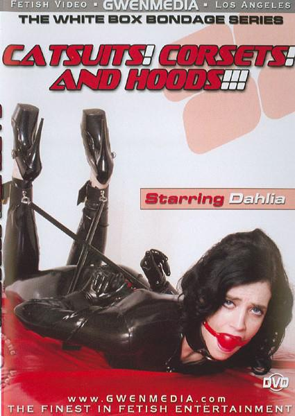 Catsuits corsets and hoods fetish video